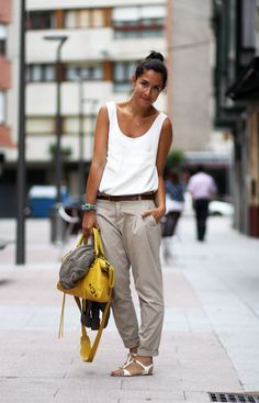 Chic yet casual.