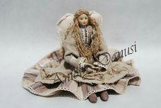 Kontakt/Contact: mail: danutaewa13@o2.pl Rękodzieło artystyczne anioły Angels lalki szmaciane lniane z materiałów naturalnych vintage szyte ręcznie http://www.aniolydanuty.pl/