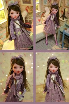 """monster high custom. A great example of """"it's all in the details"""". Beautiful work.                                                                                                                                                     More"""