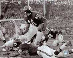 football lefty Gale Sayers, happy birthday