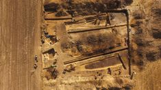 A gigantic, 5,000-year-old complex of long barrows and stone-lined tombs has been unearthed in Poland, after archaeologists investigated lines in crops in a field that they'd seen in a satellite … Earth's Magnetic Field, Medieval Fortress, Wooden Poles, Old Cemeteries, Fortification, Bronze Age, Prehistoric, Cemetery, Year Old