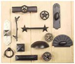 Western Style Cabinet Knobs And Drawer Pulls