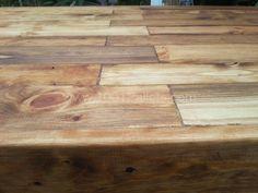 Table À Manger En Bois De Palettes / Reclaimed Pallets Wood Dining Table Pallet Desks & Tables