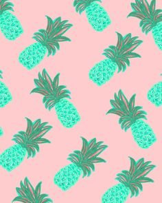 Bouffants  Broken Hearts - Blue Pineapples
