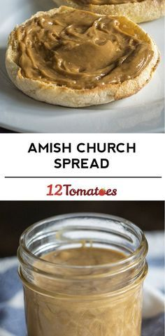 Old-Fashioned Amish Church Spread