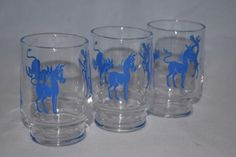 Vintage Barware-Federal Glass-Cocktail/Rocks Tumbler-Jackass - Retro Reclaimations - 1