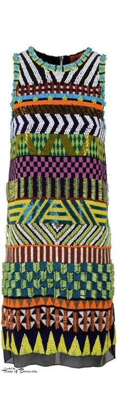~MISSONI - Alphonsine Beaded Shift Dress   House of Beccaria