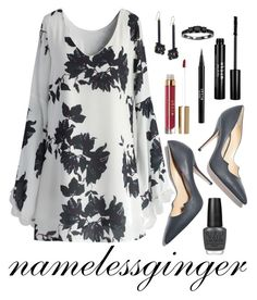 """""""untitled #380"""" by namelessginger ❤ liked on Polyvore featuring Chicwish, Paul Andrew, OPI, Stila, Marni and Bliss Diamond"""