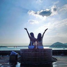 Cabana in Hong Kong Bartok design Co. Japanese Soaking Tubs, Champagne Bar, Cabana, Hong Kong, Ocean, Water, Design, Gripe Water, The Ocean