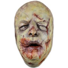 Straight from the screen of AMC's The Walking Dead comes The Bloated Walker Face Mask. The Bloated Walker is a highly detailed face mask that includes swollen eye, cheeks, blood soaked mouth and the t