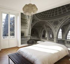 The Pepin Shop - Espace Pepin – Ogive Arches Murale - Ogive Wall Mural