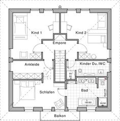 """Plus Energy House """"Life"""" by Viebrockhaus - Designed by Jette Joop Small House Plans, House Floor Plans, Welcome To My House, Sims House, Architecture Plan, My Dream Home, Future House, New Homes, How To Plan"""