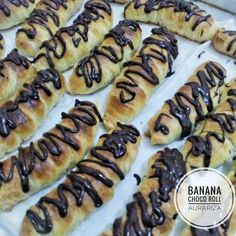 It's pastry filled with banana dan chocolate