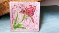 Mi Rincón de Manualidades: IRIS NACIENTE Realizadas en tonos: Dusty Rose y Re...