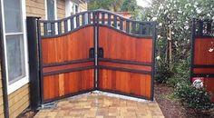 bi-fold driveway gate