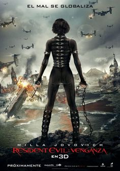 Resident Evil: Retribution -- Alice can take on the Umbrella corporation and zombies in any language.