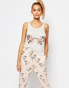 a0d50a039325 Minkpink Birds Of A Feather Pyjama Top Pajama Top
