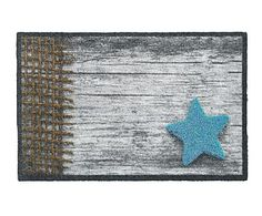 Felpudo Wood Star - 75x50 cm