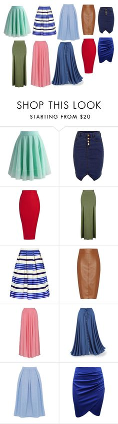 """юбки"" by lerka-panterka on Polyvore featuring мода, Chicwish, Posh Girl, Topshop, Paul & Joe Sister, Bailey 44 и Warehouse"