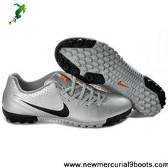 Nike5 Bomba Finale Turf indoor in silver black orange Boots Store