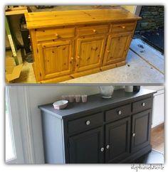 Dans la série, je change les meubles de place : la petite table bar de la cuisine est partie (elle finira sans doute en plan de travail dans...
