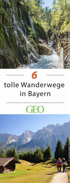 Wandern in Bayern: 6 tolle Routen Wandern in Bayern The post Wandern in Bayern: 6 tolle Routen appeared first on Deutschland. Hiking Routes, Hiking Trails, Travel Around The World, Around The Worlds, United States Travel, The Great Outdoors, Trekking, Places To See, Foodie Travel
