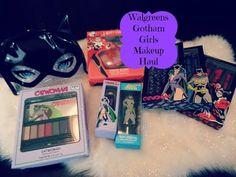 Walgreens Gotham Girl Makeup Haul -Catwoman, Batgirl, & Harley Quinn
