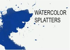 Splatter brushes are very popular, and some of the sets on this list include some amazing Photoshop splatter brushes you can check out. Cool Photoshop, Photoshop Brushes, Photoshop Tutorial, Photoshop Actions, Watercolor Splatter, Ink Splatter, Watercolor Brushes, Watercolor Paper, Web Design