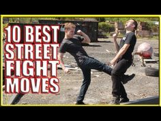 10 Best Street Fight Techniques Never brawl, never throw haymakers, Try to remain calm and focus.  Do your technique correctly.  The best part of the body is aim is the kneecap.  A solid kick to the kneecap.  It will break easily.  Never let yourself out of control.  A straight strong jab or a Palm Heel Strike driven upto the chin A straight punch and bend your knees and move  your hips forward  in during your punch because it will put power into your punch :)