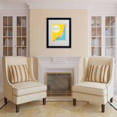 Trademark Fine Art Dive into Sunshine II Canvas Art by Anderson Design Group, White Matte, Black Frame, Size: 16 x 20