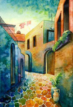 Greece 3  by Cecilia Elfving
