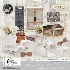 CAJOLINE-SCRAP: Elements CU - 177