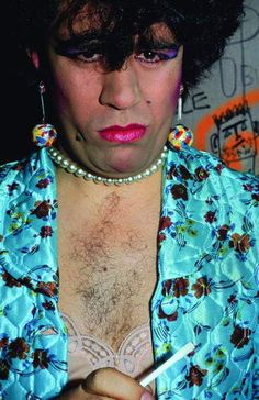 Pedro Almodovar in drag. Almodovar Films, Garcia Alix, Lgbt, Madonna 80s, Cindy Sherman, Famous Movies, Man Ray, Indie Music, Interesting Faces