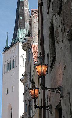St Olaf´s Church, Tallinn, Estonia