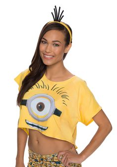 Imagine having all the minions working around in your head. Wear this Adult Minion Headband to the new movie! Halloween Shoes, Halloween Costume Accessories, Couple Halloween, Halloween Outfits, Halloween Costumes For Kids, Halloween Party, Toddler Costumes, Diy Costumes, Costumes For Women