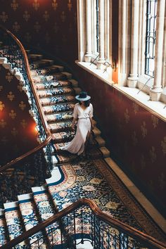 can you imagine swooping down a grand staircase? #wehaveoneofthose