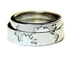 Unique Wedding Rings for the Unique Couple