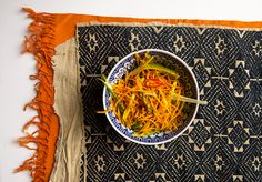 Spice Mama's easy and healthy carrot and ginger stir-fry