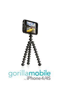 GorillaMobile case with flexible bendy legs