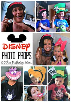 Disneyland Themed Party Decorations & Free Printables!
