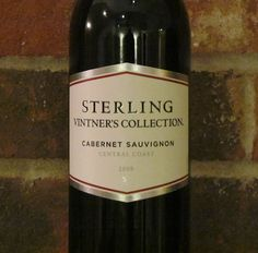 Review - Sterling Vintner's Collection Cabernet Sauvignon 2009.  http://www.honestwinereviews.com/2012/12/sterling-wine.html