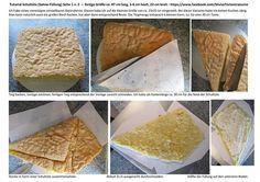 Silvia's Tortenträume: Schultüte Tutorial Anleitung Kuchen Giotto-Sahne Seite 1/2 Fondanttauglich