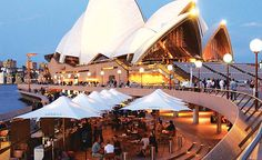 Fave Al-Fresco Bar in front of Sydney Opera House. Hg2.com