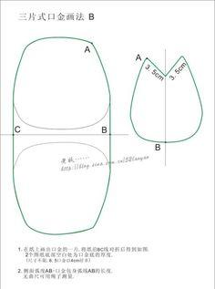 Кошелек с фермуаром: четыре разные выкройки для шитья