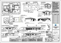 3 bedroom house plans with an open plan. Browse one story floor plans to modify or configure to suit your own taste. Quality South African home designs 2 Room House Plan, 1 Bedroom House Plans, Garage House Plans, Cottage House Designs, 4 Bedroom House Designs, Beautiful House Plans, Modern House Plans, Double Storey House Plans, Flat Roof House