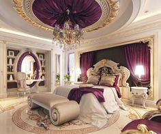 Luxury Bedroom Design. Luxury bedroom design ideas. Master bedroom. Contemporary bedroom design. bedroom decor ideas. exclusive design. For more inspirational ideas take a look at: www-homedecorideas.eu