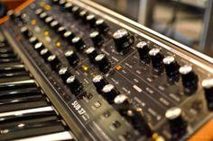 Moog Sub 37 prototype @ Musikmesse Frankfurt. Want one!