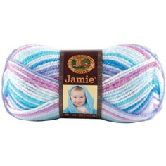 Lion Brand Yarn 881203 Jamie Yarn Twinkle Stripes >>> Continue to the product at the image link. (Note:Amazon affiliate link)