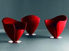 poltrone rosse design