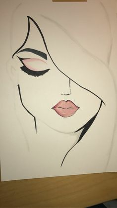 Learn to draw our ideas easy to make drawings that are ideal for children and beginners. We present more than 90 ideas drawings Girl Drawing Sketches, Girly Drawings, Art Drawings Sketches Simple, Pencil Art Drawings, Easy Drawings, Art Watercolor, Art Anime, Color Pencil Art, Funny Art